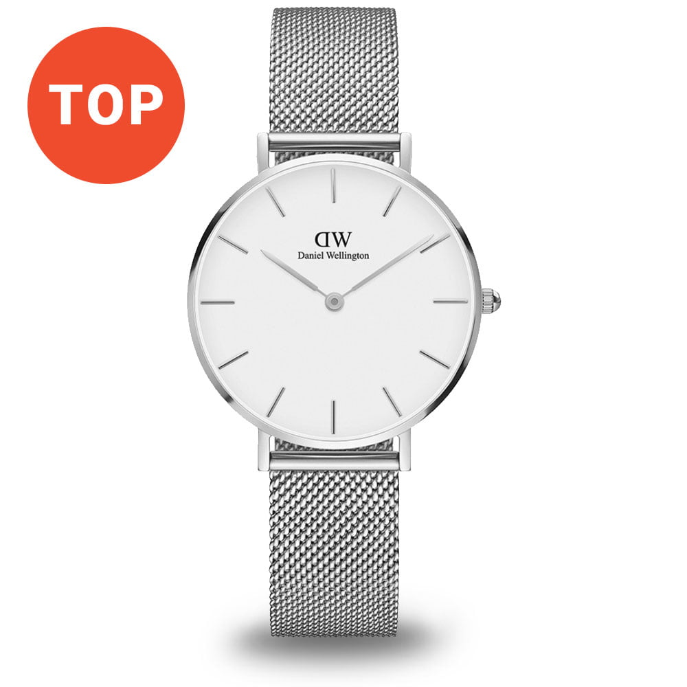 Strieborné minimalistické hodinky Daniel Wellington