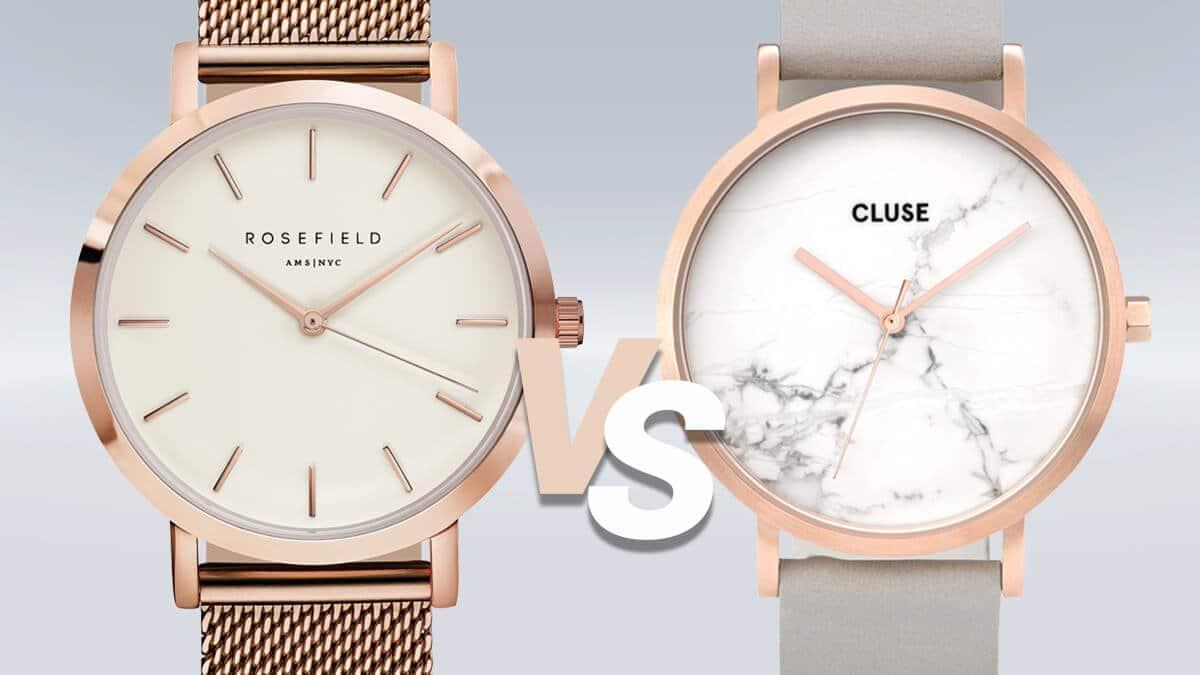 A minimalista Rosefield és Cluse karórák párbaja