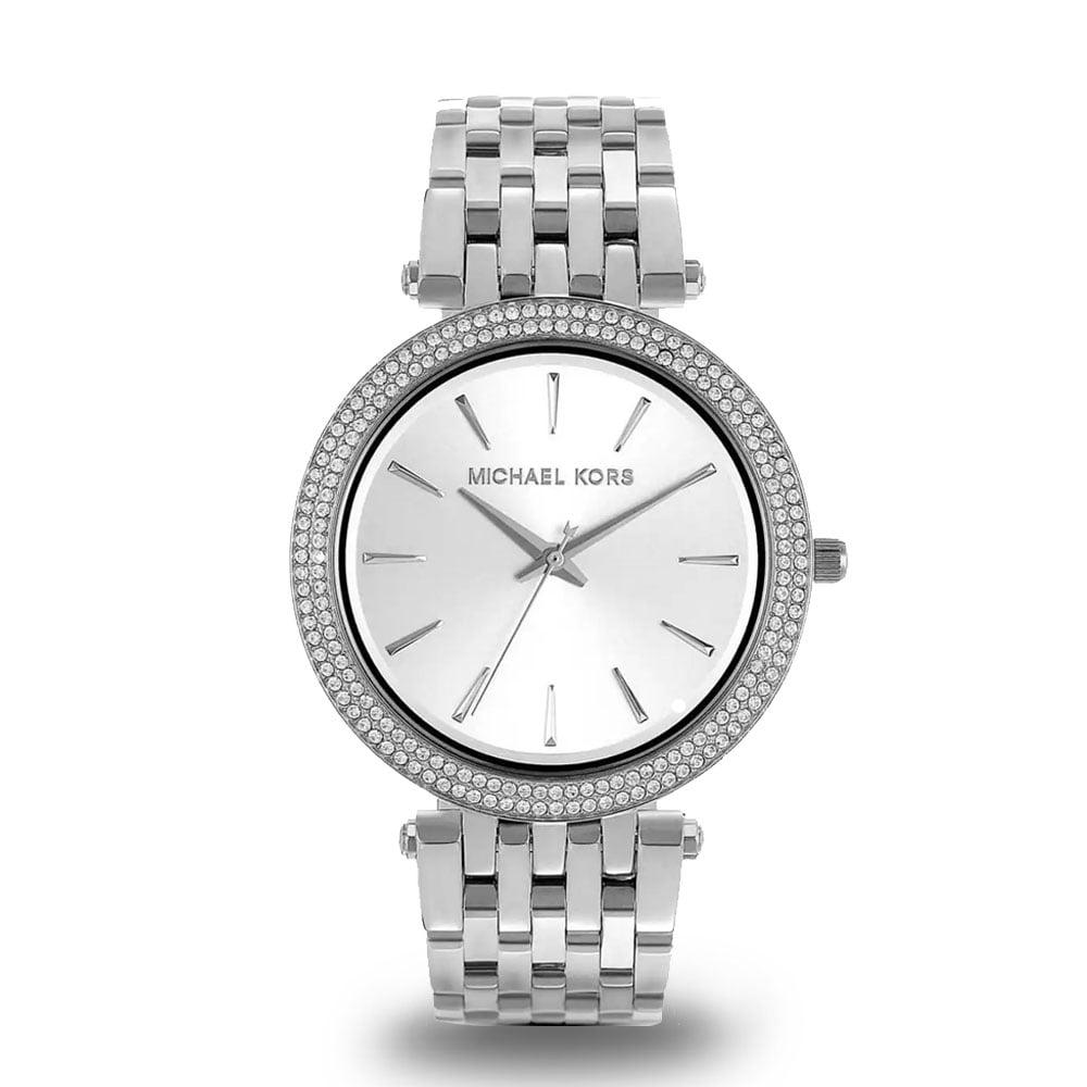 Strieborné dámske hodinky Michael Kors MK3190