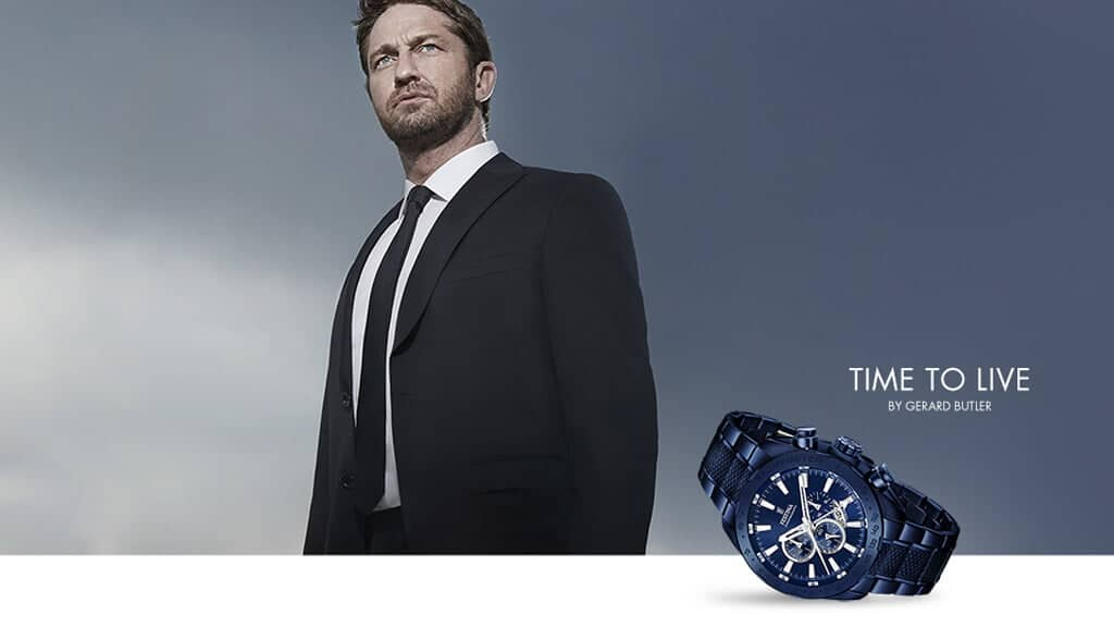 Gerard Butler a Festina márka reklámkampányában
