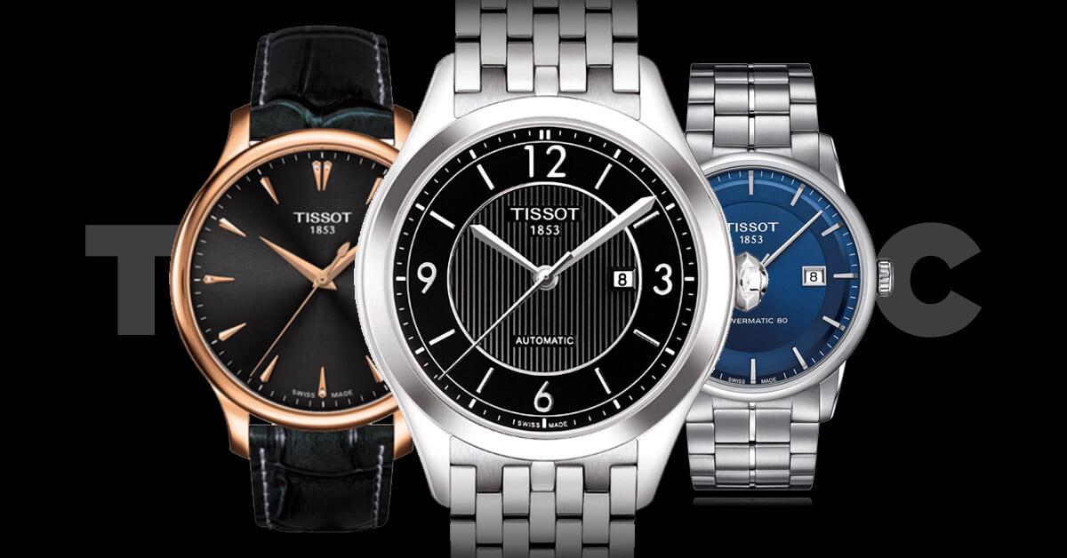 Hagyományos karóra urak és hölgyek számára a Tissot T-Classic sorozatból