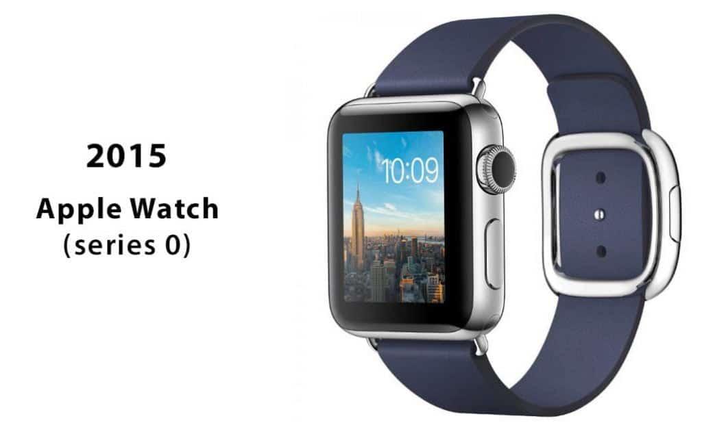 Az Apple Watch első generációja, más néven Series 0