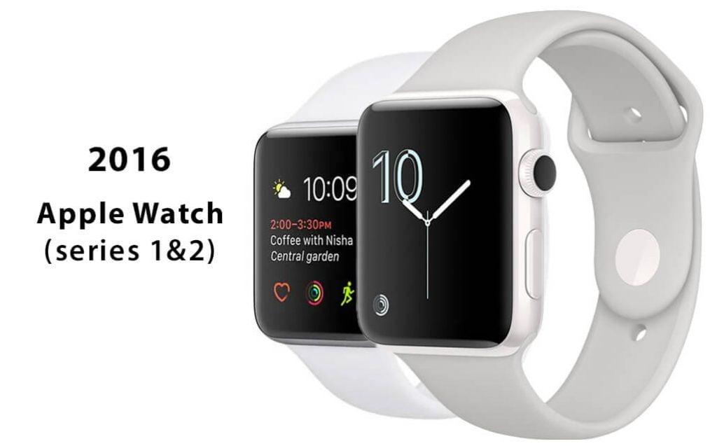 Apple Watch Series 1 és Series 2 2016-ból