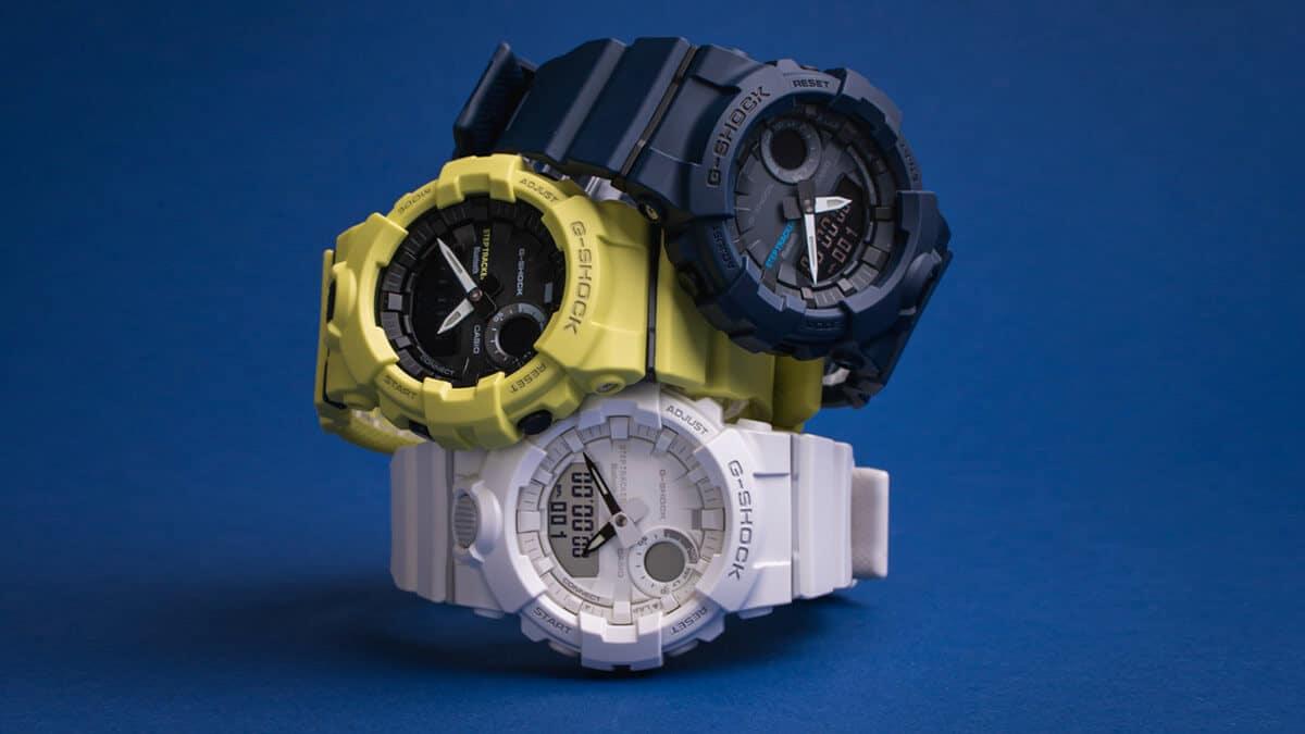 A Casio márka és gumi szíjas G-Shock modelljei