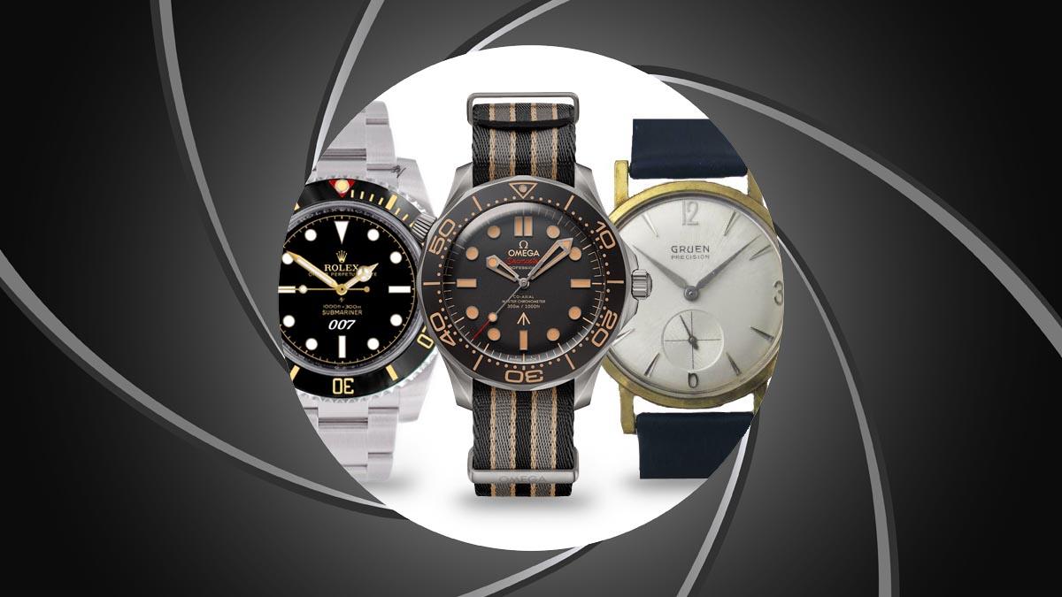 Bemutatjuk a James Bond filmekben megjelent óra márkákat