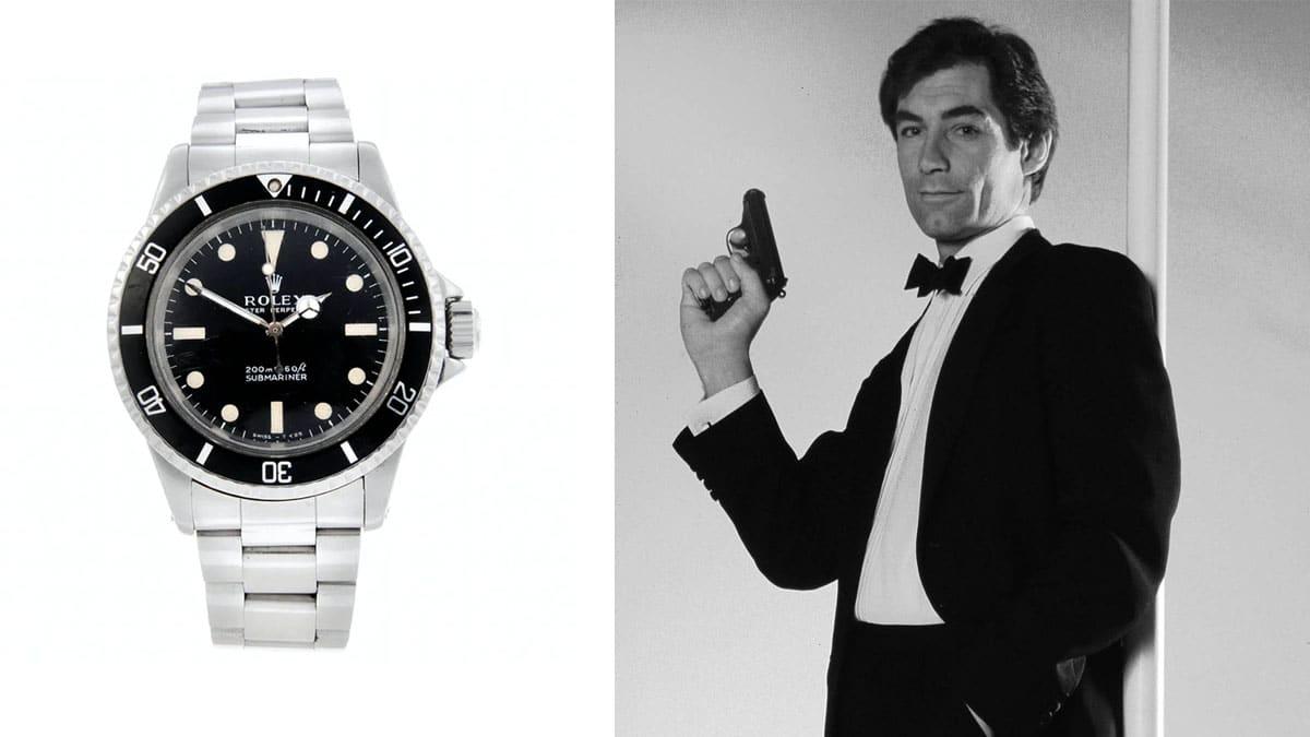 James Bond karóra - Rolex Submariner / Timothy Dalton