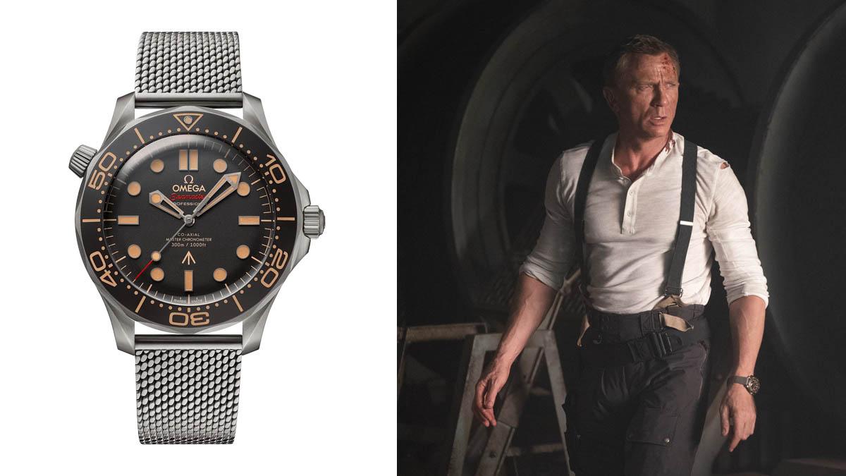 James Bond karóra - Omega Seamaster Diver 300M 007 James Bond Watch