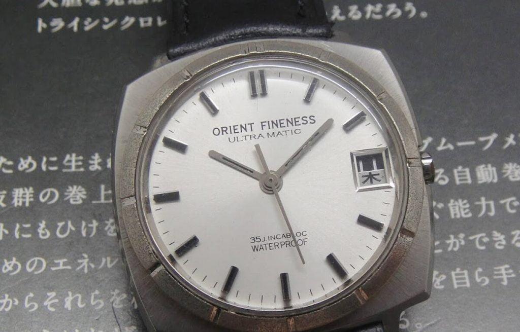 Orient karóra - az Orient Fineness nevű történelmi modell