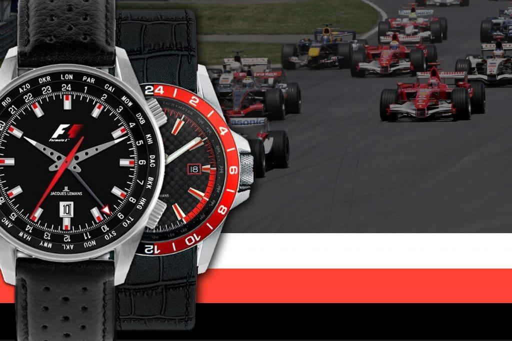 A Jacques Lemans karóra exkluzív partnere volt a Formula F1-es versenyeinek