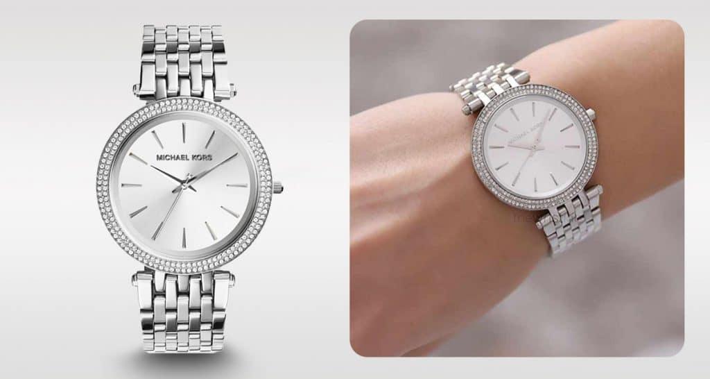 Időtlen Michael Kors MK3190 ezüst női karóra