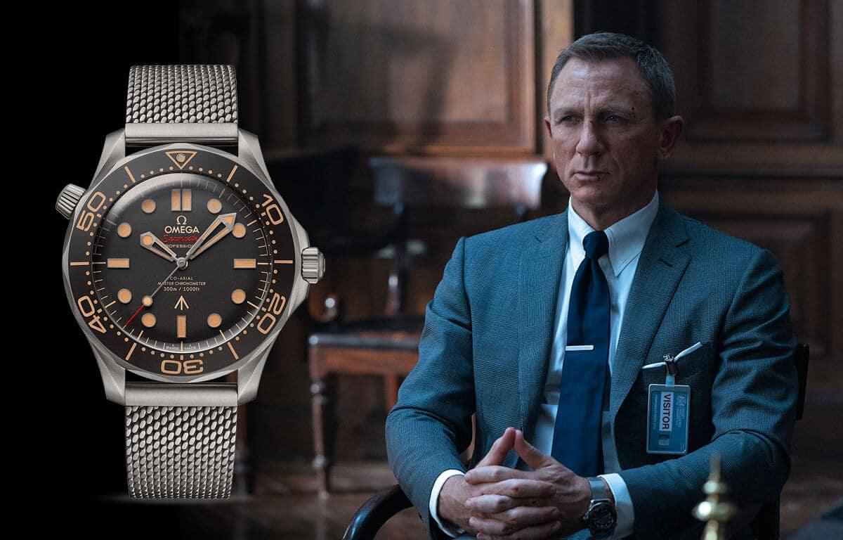 A híres Omega férfi karóra a James Bond ügynökről szóló filmekben is ott volt