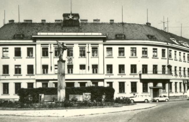 Az első Prim óragyár Nové Město nad Metují-ban