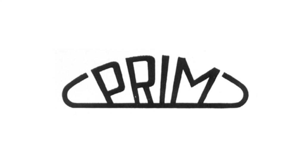 A Prim vállalat logója 1956-ból