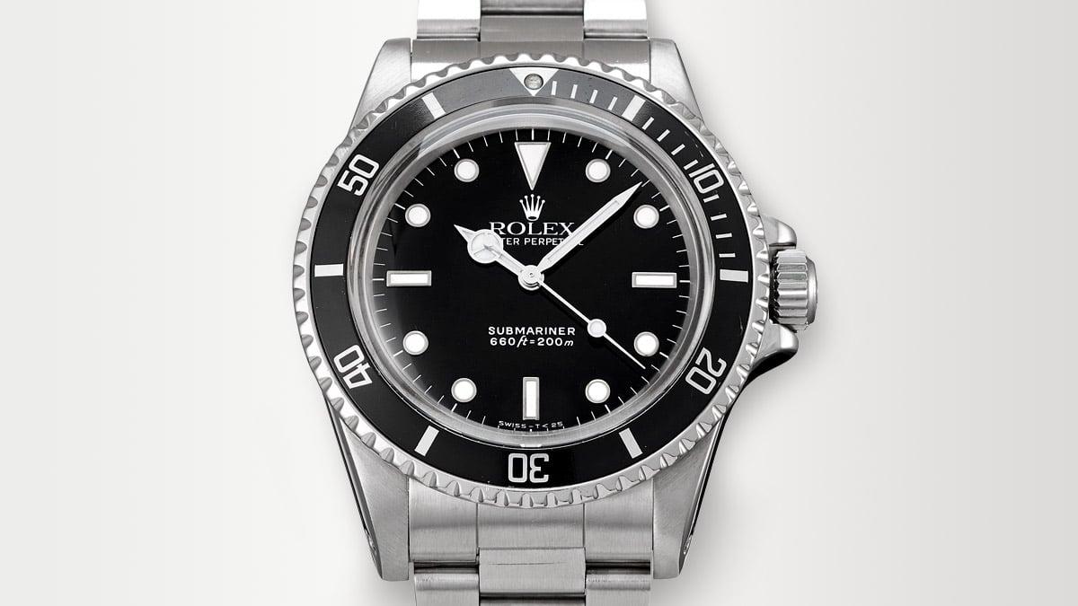 A Rolex karóra jól ismert kiadása - Rolex Submariner